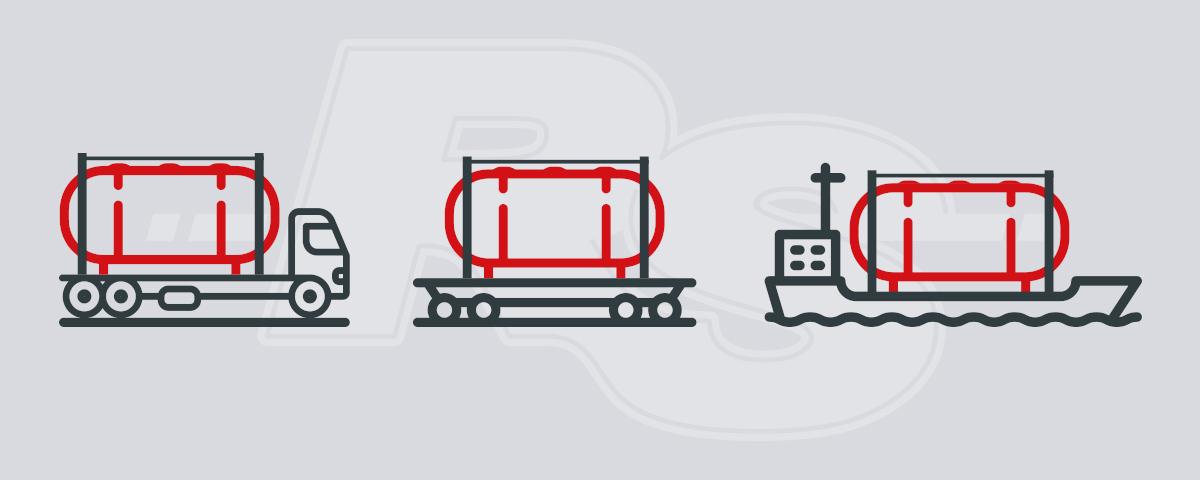 schema grafico del trasporto multimodale